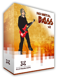 Nu Metal Bass Guitar Loops