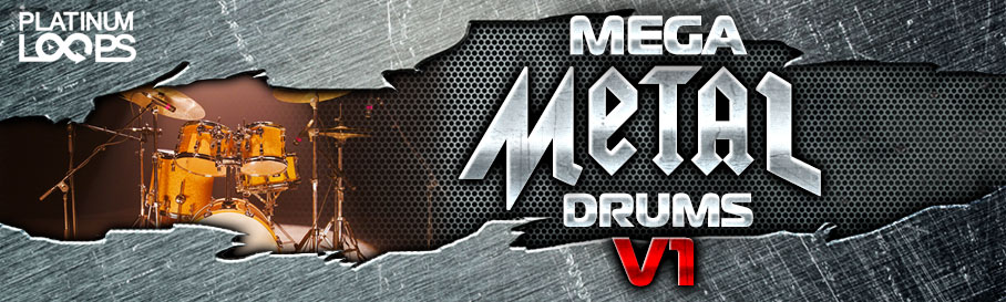 Metal Drum Loops - Mega Metal V1 - Do
