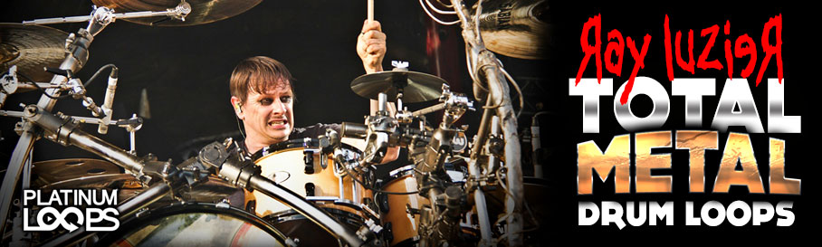 Ray Luzier of KoRn and KXM plays 'Total Metal Drum Loops'