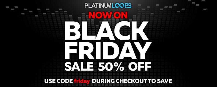 Black Friday Loops and Samples Sale - Download WAV Files