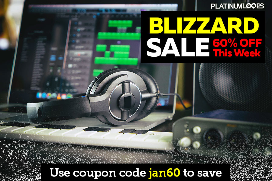 Download Your Loops and Samples in the Blizzard Sale