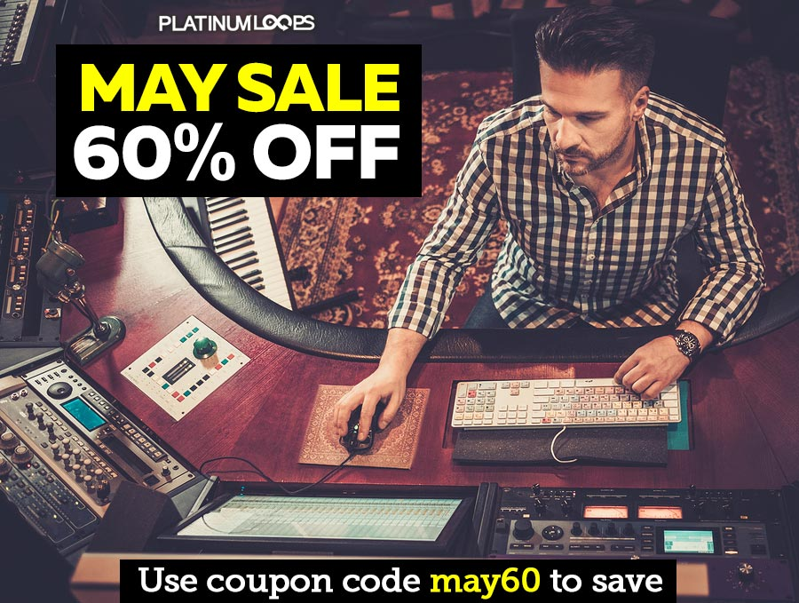 Loops and Samples Download in our May Sale