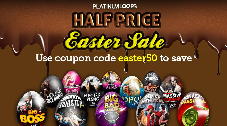 Download Loops and Samples in the Easter Sale