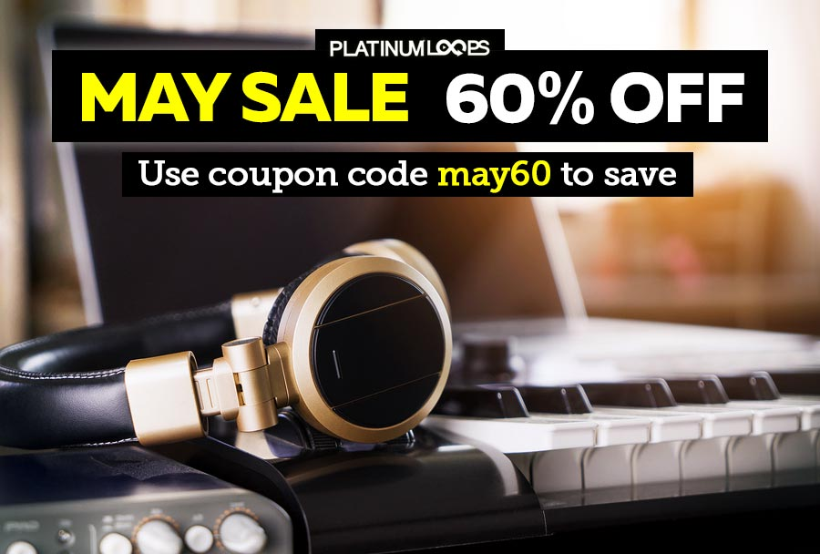Loops and Samples in the Platinumloops May Sale