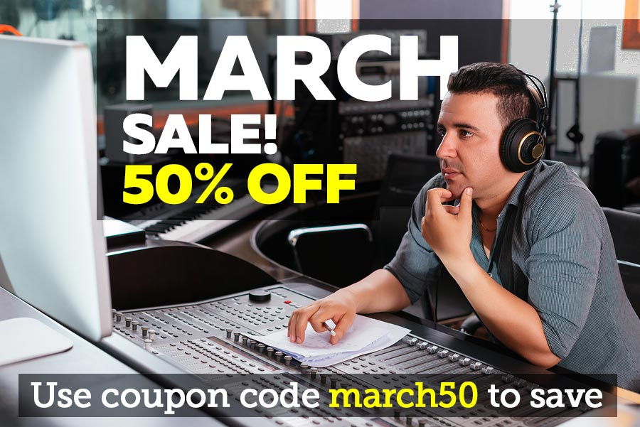 Download Loops and Samples in the March Sale