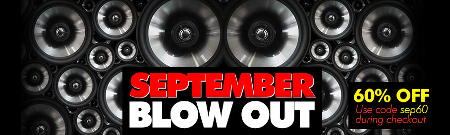 September Blow Out - Get Your Loops and Samples with 60 % OFF!