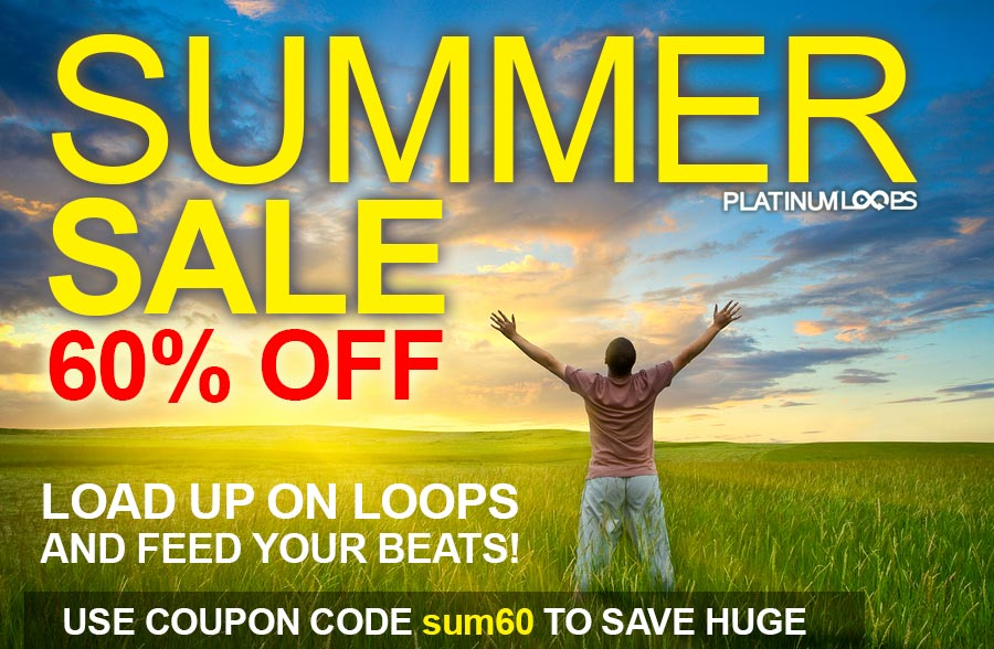 Get 60% Off Your Loops and Samples