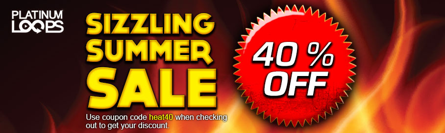 Sizzling Summer Sale for Loops and Samples