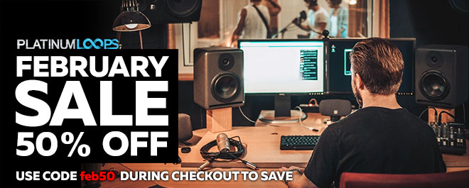 Get Your Loops and Samples in the February Sale
