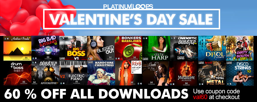 Download Loops and Samples for Valentine's