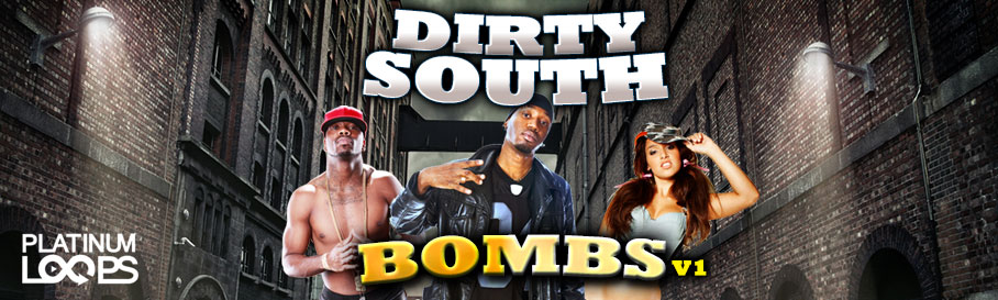 Dirty South Samples – Bombs V1