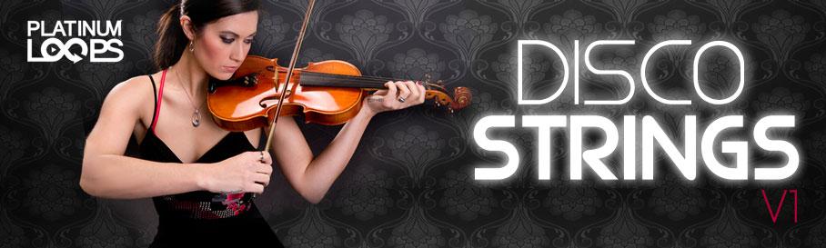 Disco Strings Samples V1
