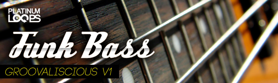 Funk Bass Loops – Groovaliscious v1