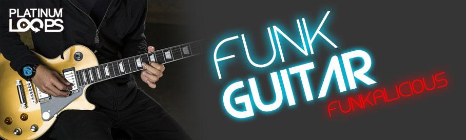 Funk Guitar Loops - Funkalicious v1
