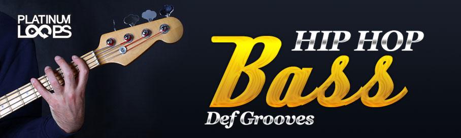 Hip Hop Bass Guitar Loops - Def Grooves