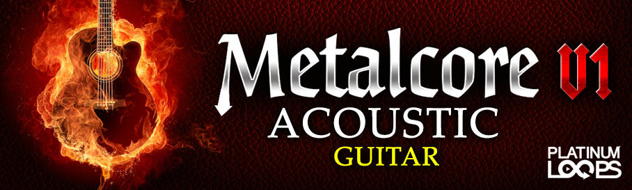 Metalcore Acoustic Guitar Loops