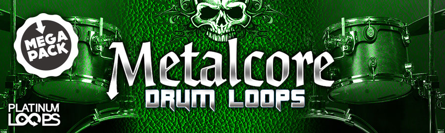 Metalcore Drum Loops MegaPack
