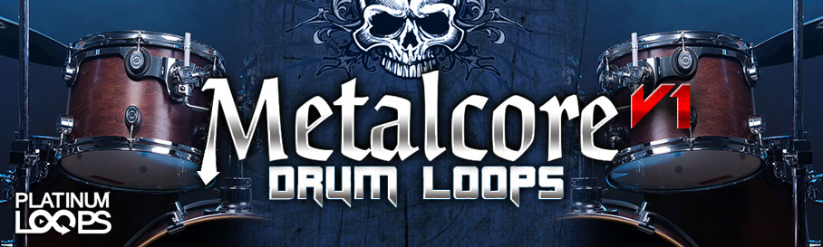 Download Metalcore Drum Loops for your DAW