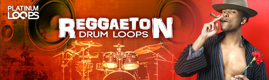 Live Reggaeton Drum Loops