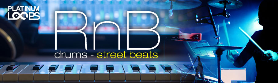 RnB Drum Loops - Street Beats