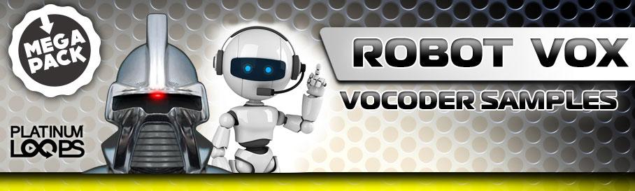 Vocoder Samples - Robot Vox MegaPack