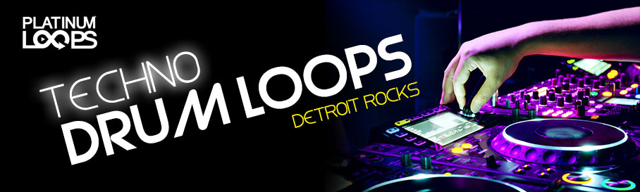 Techno Drum Loops - Detroit Rocks
