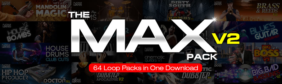 Loops and Samples in 'The Max Pack V2'