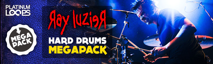 Ray Luzier - Metal and Funk Drum loops