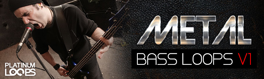 Metal Bass Guitar Loops